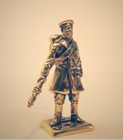 8.Рядовой 17-й артиллерийской бригады.