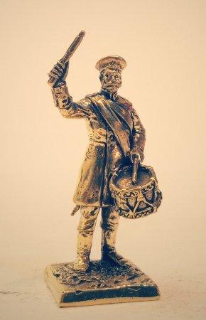5.Барабанщик второй гренадёрской роты 17 Бутырского полка.