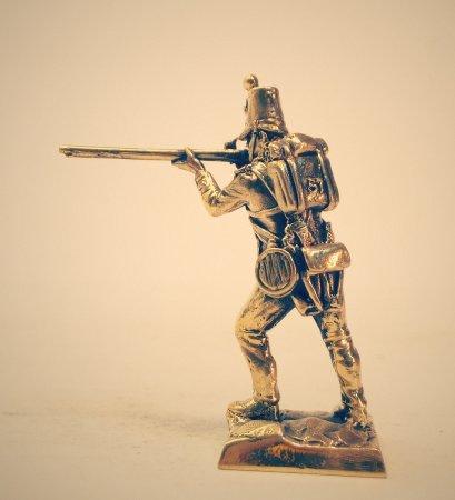 2.Рядовой 57-го пехотного Западно-Миддлсекского полка. 57th (West Middlesex) Regiment of Foot.