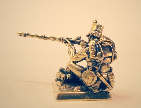 1.Рядовой стрелковой бригады. Rifle Brigade.