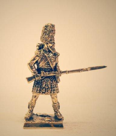 4.Рядовой 42-го Королевского Горского полка, «Черная Стража». 42th Royal Highland Regiment of Foot, «Black watch».