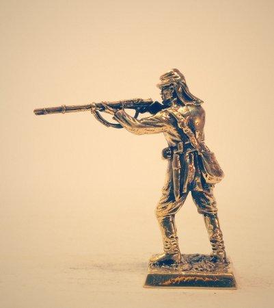 5.Рядовой пехотного полка в летнем обмундировании.