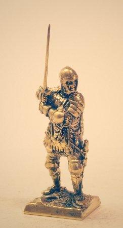 4.Спешенный рыцарь.