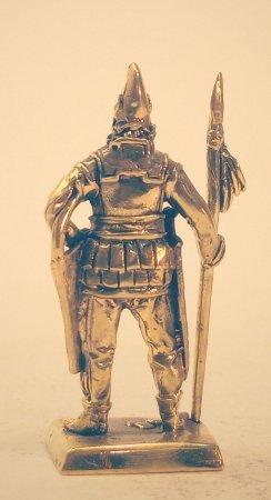 3.Знатный скифский воин.
