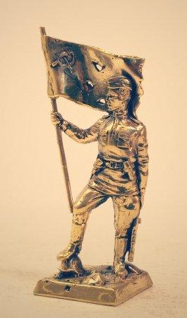 4.Сержант со штурмовым знаменем.