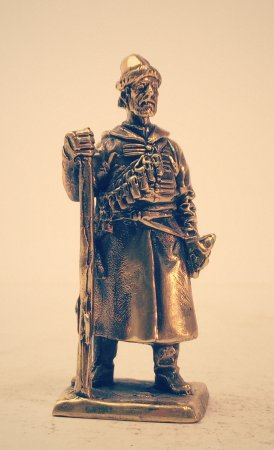 2.Рядовой стрелец с мушкетом.