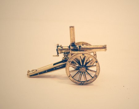 Российская картечница системы инж. Барановского обр. 1873 года.