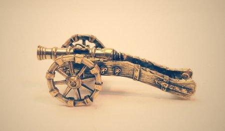 Полевое орудие европейского образца середины XVII.