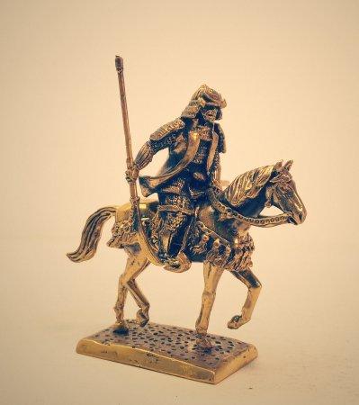 Японский военачальник 17го века в накидке «хампи».