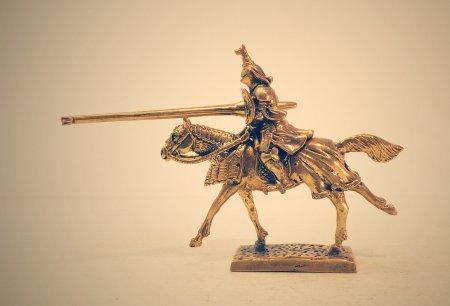 Рыцарь в турнирном доспехе, вторая половина 15-го века.