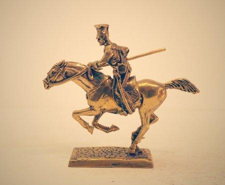Рядовой 17-го Уланского полка Британской армии 1854 год.
