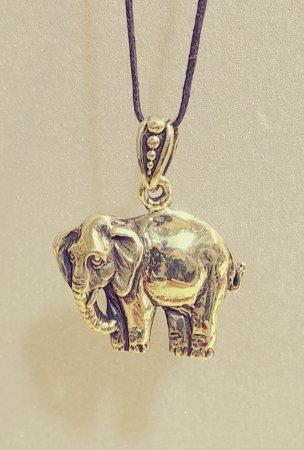 Слон плоский