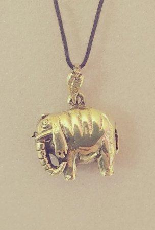 Слон полосатый